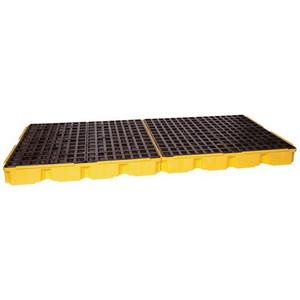 Eagle® 8 Drum Low Profile Spill Platform, With Drain
