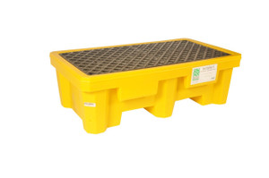Spill Pallet P2, No Drain, Yellow