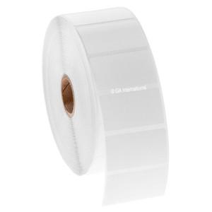 "Blackout Paper Labels, White, 1.75"" x 1"", 1000 labels/roll"