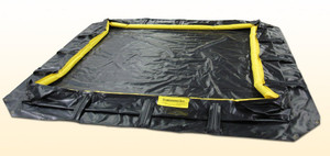 "Containment Berm, Rapid Rise Model: 10' x 10' x 13"", 28 oz."