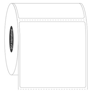 """Blackout FreezerTAG Deep-Freeze Cover-Up Labels for Thermal-Transfer Barcode Printers, White, 2.5"""" x 2.5"""", 500 labels/roll"""