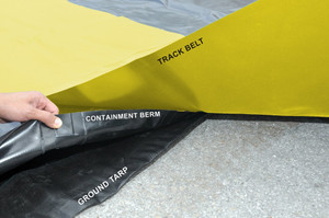 Containment Berm Ground Tarp 16' x 64': For all 12' x 60s