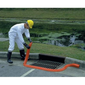 """Spill Berm, 10' Long x 4"""" High, Orange"""