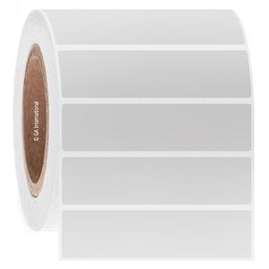 "Blackout Paper Labels, White, 4"" x 1"", 2000 labels/roll"