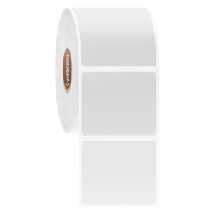 "Blackout Paper Labels, White, 1.625"" x 1.375"", 2,500 labels/ roll"