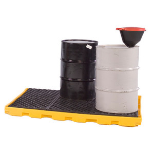 Spill Deck P6: One-Piece 6-drum Spill Deck