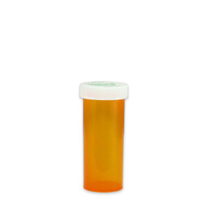 Amber Pharmacy Vials, Child Resistant Cap, 16 dram (60cc), case/270