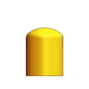 """Dome Bollard Cap, 4.5"""" OD x 6"""" L"""