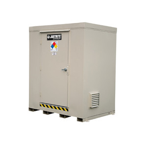 Outdoor Storage Locker, 4 Hour Fire Rated, 6-Drum