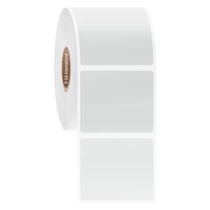 "Blackout Paper Labels, White, 1.625"" x 1.375"", 1000 labels/roll"