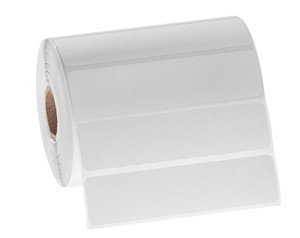 """Permanent FreezerTAG Deep-Freeze Labels for Thermal-Transfer Barcode Printers, White, 4"""" x 1"""", 1000 labels/roll"""