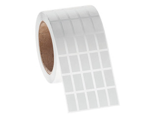 """Permanent FreezerTAG Deep-Freeze Labels for Thermal-Transfer Barcode Printers, White, 0.5"""" x 1"""", 10000 labels/roll"""