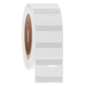 """Cryo-StrawTAG - Cryogenic Labels for IVF Straw Identification, White + Transparent, 1.75"""" X 1"""", 1000 labels/roll"""