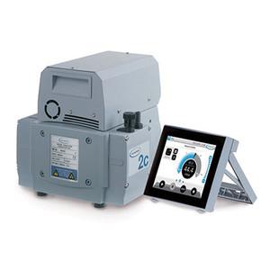 Vacuum Pump, MZ 2C VARIO Select Two-Stage Chemistry Diaphragm Pump, 7 mbar, 5 torr, 1.6 cfm