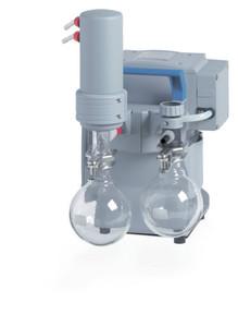Oil-Free Chemistry Diaphragm Pump, MZ 2C NT +AK+EK , 1.5 mbar, 1.1 torr, 2.2 cfm
