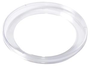 KORD-Valmark Petri Dish, 150x15mm Standard Mono Plate, Slippable (No Rim), Concentric Bottom Ring, case/100