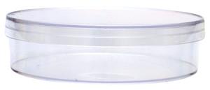 "KORD-Valmark Petri Dish, 100x25mm Mono Agri-Plate, ""Extra Deep Dish"", Slippable, No Rim for Automation, case/340"