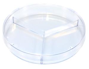 KORD-Valmark Petri Dish, 100x15mm Tri-Plate, Slippable, case/500