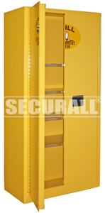 """Spill Containment Cabinets, Full Size Stationary Cabinet / 2-Door, 72"""" x 36"""" x 24"""""""
