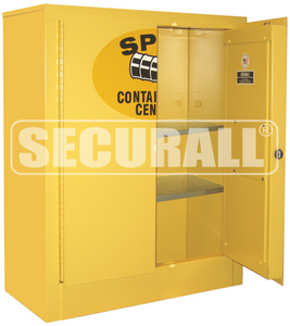 """Spill Containment Cabinets, Wall Mount, 2-Door, 32"""" x 26"""" x 12"""""""