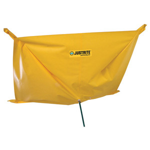 Justrite® Leak Drip Diverter Hanging Tarp, Choose Size