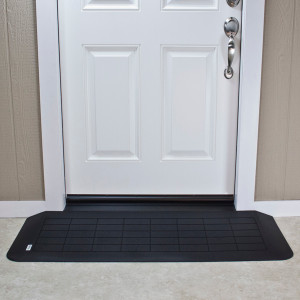 ADA Compliant EZ-Edge Transitions 18 inch  Door Frame Ramp, 49.625  inch  L