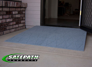 "Threshold Wheelchair Ramp, Residential, 2"" to 5-1/2"" Height options"