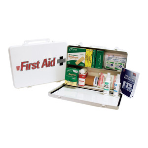 Trucker's First Aid Kit, Steel Case