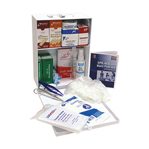 Medium Office First Aid Kit in Steel Case