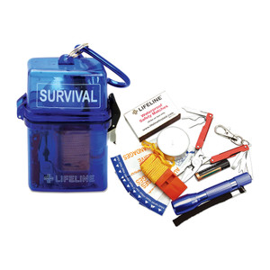 Weather Resistant Survival Kit, Case/12