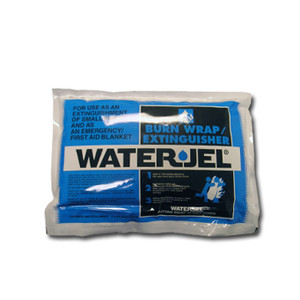 Water Jel Burn 3' x 2.5' Wrap Extinguisher, Case/4