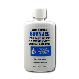 Water Jel Burn Gel 4 Oz Bottle, Case/24