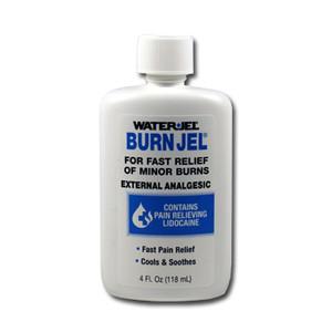 Water Jel Burn Gel 4 Oz Bottle, Case/24