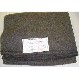 """Wool Fire Blanket 66"""" x 80"""""""
