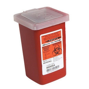 1 Quart Sharps Container, Case/72