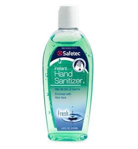 Antiseptic Hand Sanitizer Gel, 4oz Bottles, case/24