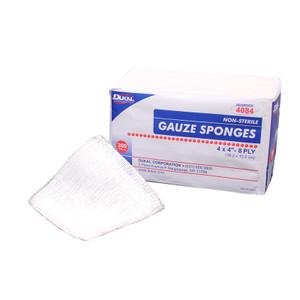 "Non-Sterile 4""x4"" Gauze Sponge, Case/20"