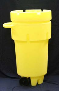 Hazmat Mobile Chemical Emergency Spill Kit, 50 gal Emergency Spill Kit