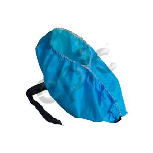 Disposable Antistatic PE Shoe Covers, Conductive Strip, X-Large, case/300
