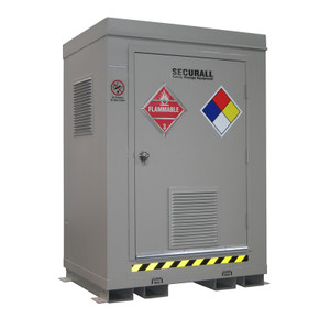 HazMat Drum Storage Locker with Optional Fire Rating, 2-Drum