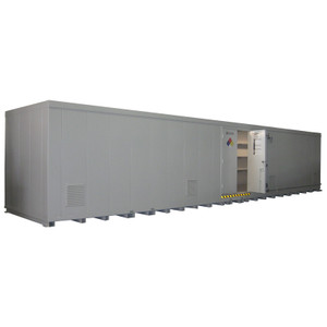 """Insulated Chemical Building with Shelves, Lighting, Fire Rating Option, 8'4""""Hx34'"""