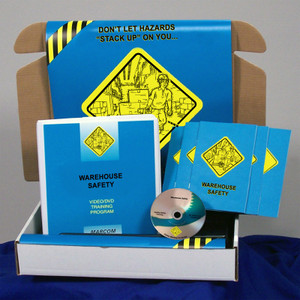 Safety Training: Warehouse Safety Training Meeting Kit DVD, Choose Language