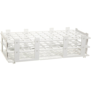 PP Test Tube Rack Holds (55) 16mm Tubes, pack/5