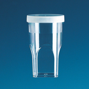 Sample Cups with Lids for Coulter Counter, 12mL or 20mL, case/1000