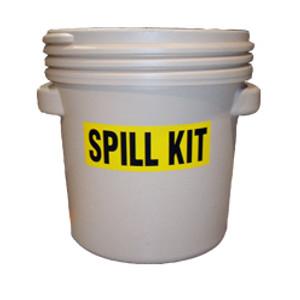Universal Chemical Spill Kit, 20 gallon Pail