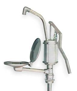 Aluminum Drum Pump, Lever Handle with Drip Tray, Self-Priming