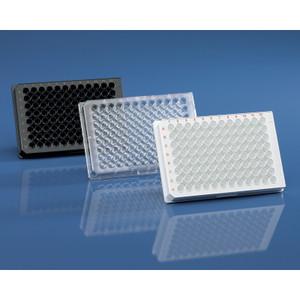 Sterile 96-Well Plate, cellGrade plus, Lids, Transparent F-Bottom, pack/50