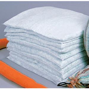 "Universal HazMat Sorbent Pillows, 3"" x 18"" x 24"", case/10"