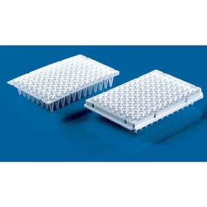 96-well PCR Plate, Semi-Skirted Raised Low Profile, 0.15mL, pack/50