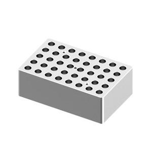 Heating Block, 1.5/2mL tubes, 40 holes for Digital Dry-Bath HB120-S